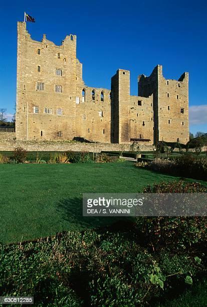 Bolton Castle near Leyburn North Yorkshire England United Kingdom 14th century