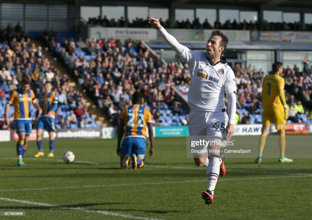 Shrewsbury Town v Bolton Wanderers - Sky Bet League One