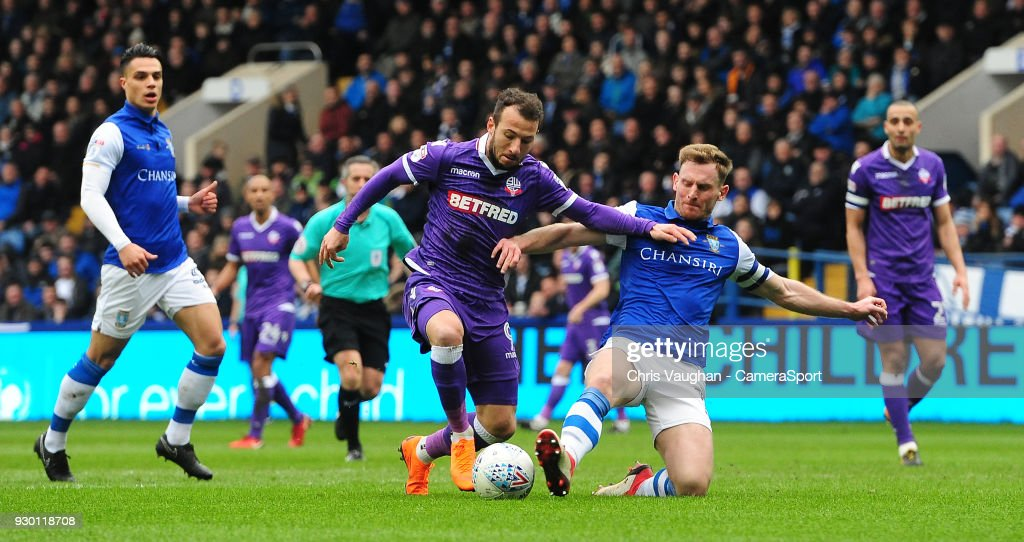 Sheffield Wednesday v Bolton Wanderers - Sky Bet Championship
