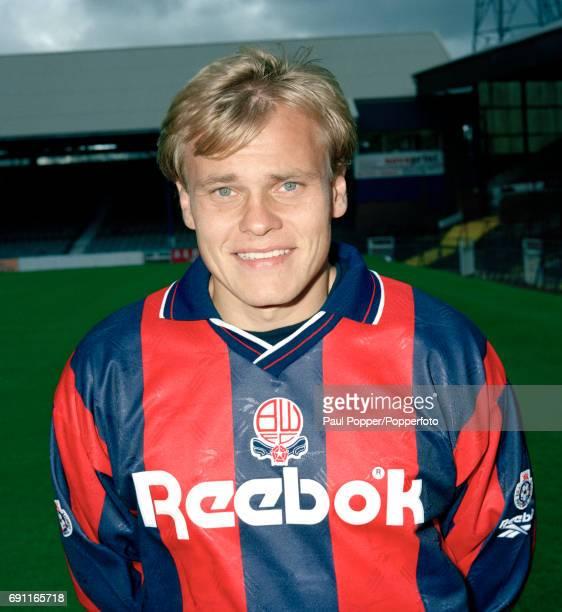 Bolton Wanderers and Finalnd footballer Mixu Paatelainen circa 1994