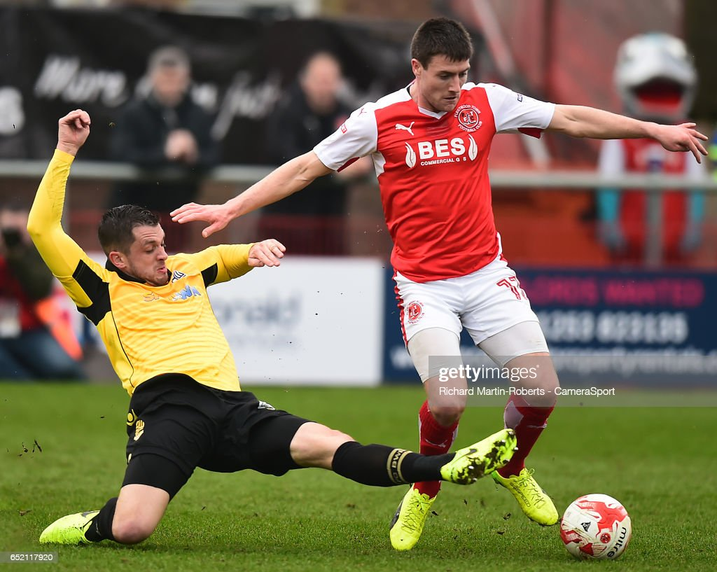 Fleetwood Town v Bolton Wanderers - Sky Bet League One : News Photo