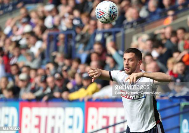 Bolton Wanderers' Andrew Taylor during the Sky Bet Championship match between Bolton Wanderers and Sheffield Wednesday at Macron Stadium on October...