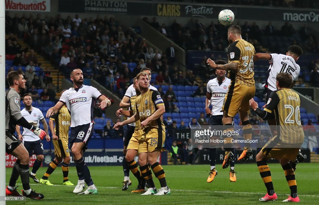 Bolton Wanderers v Sheffield Wednesday - Carabao Cup Second Round : News Photo