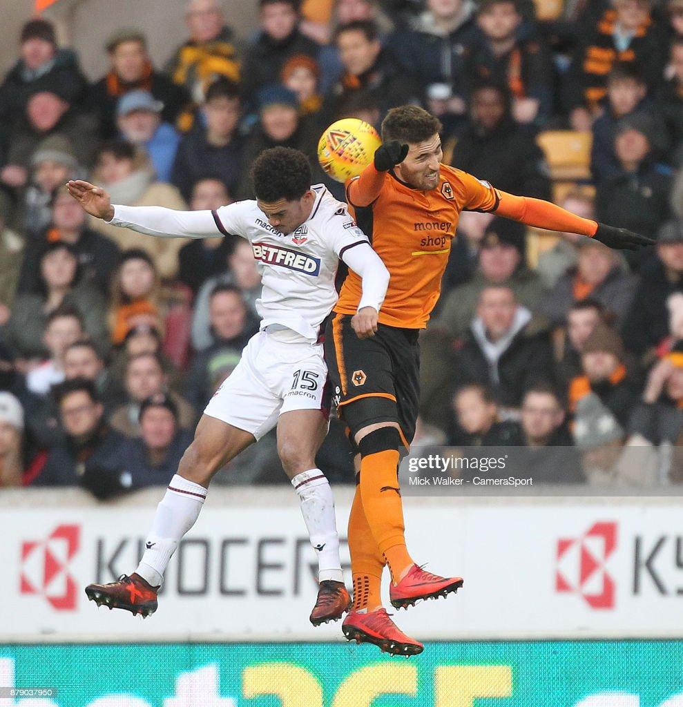 Wolverhampton Wanderers v Bolton Wanderers - Sky Bet Championship : News Photo