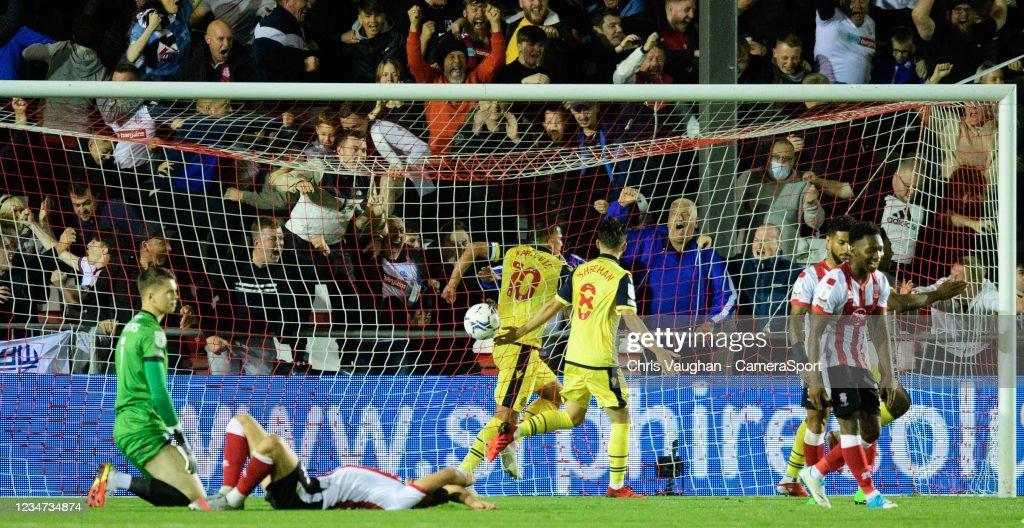 Lincoln City v Bolton Wanderers - Sky Bet League One : News Photo