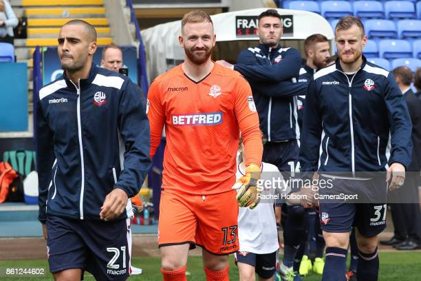 Bolton Wanderers' Ben Alnwick during the Sky Bet Championship match between Bolton Wanderers and Sheffield Wednesday at Macron Stadium on October 14...
