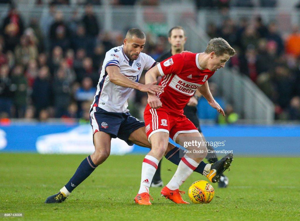 Middlesbrough v Bolton Wanderers - Sky Bet Championship