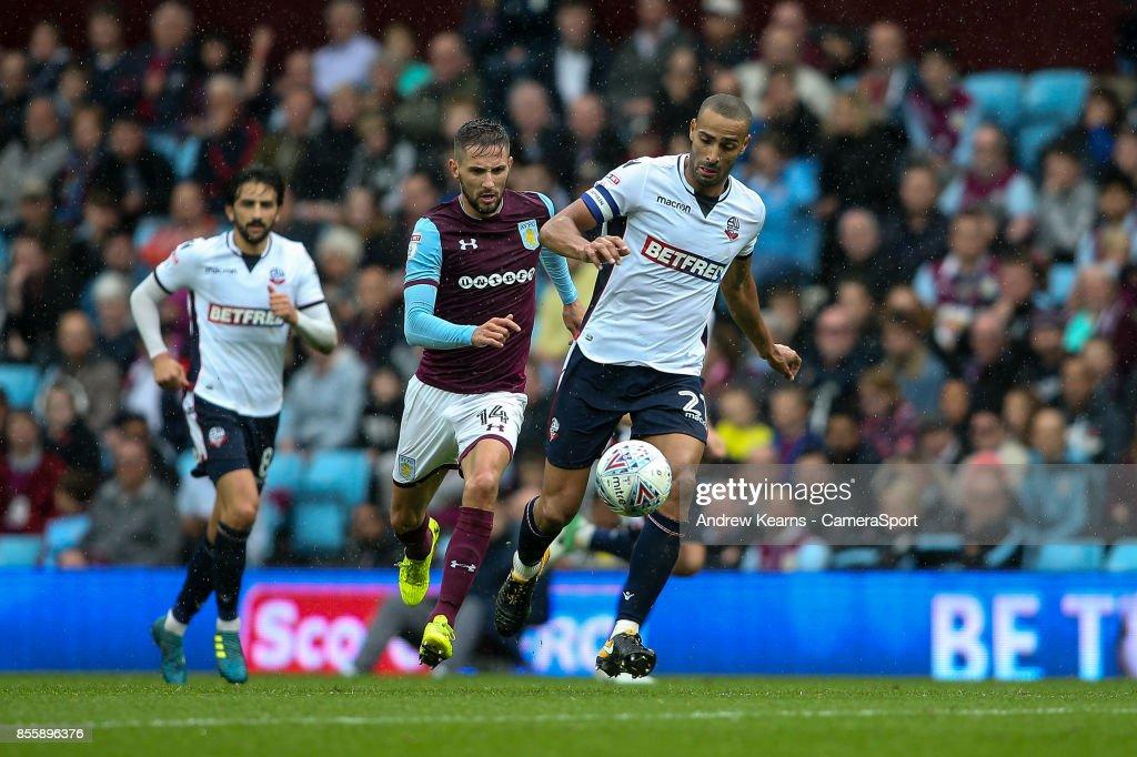 Aston Villa v Bolton Wanderers  - Sky Bet Championship
