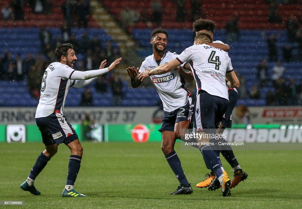 Bolton Wanderers v Sheffield Wednesday - Carabao Cup Second Round