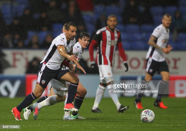 Bolton Wanderers' Filipe Morais during the Sky Bet Championship match between Bolton Wanderers and Sheffield United at Macron Stadium on September 12...
