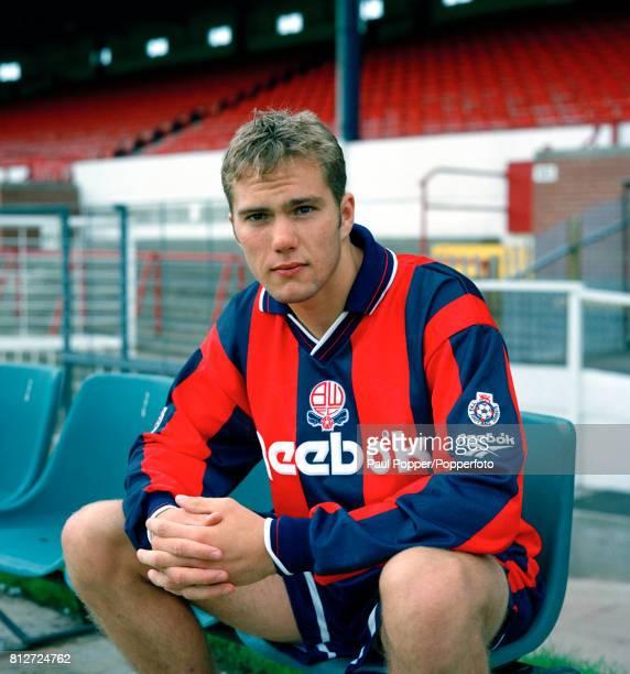 Bolton Wanderers footballer Jason McAteer circa 1994
