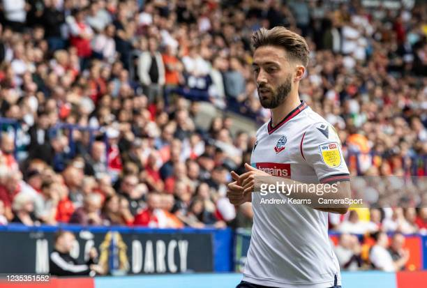 Bolton Wanderers' Josh Sheehan looks on during the Sky Bet League One match between Bolton Wanderers and Rotherham United at University of Bolton...