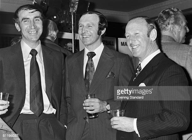 Bolton Wanderers manager Jimmy Armfield attending the Football Manager of the Year event after steering his club to the Division 3 title in 197273 He...