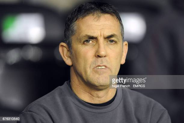 Bolton Wanderers manager Owen Coyle on the touchline