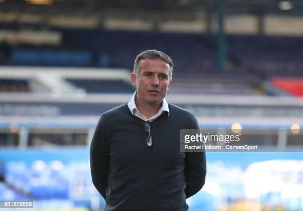 Bolton Wanderers Manager Phil Parkinson during the Sky Bet Championship match between Birmingham City and Bolton Wanderers at St Andrews Stadium on...