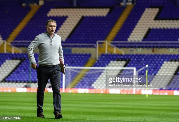 Bolton Wanderers' manager Phil Parkinson pictured before the match during the Sky Bet Championship match between Birmingham City and Bolton Wanderers...
