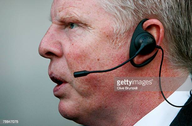 Bolton Wanderers manager Sammy Lee during the friendly match between Bolton Wanderers and Espanyol at The Reebok Stadium on August 1, 2007 in Bolton,...