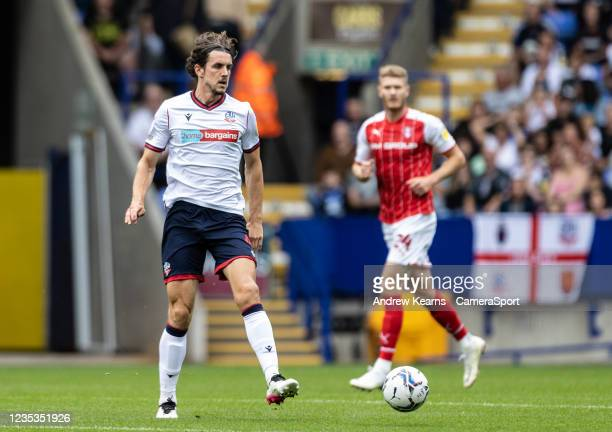 Bolton Wanderers' MJ Williams looks on during the Sky Bet League One match between Bolton Wanderers and Rotherham United at University of Bolton...