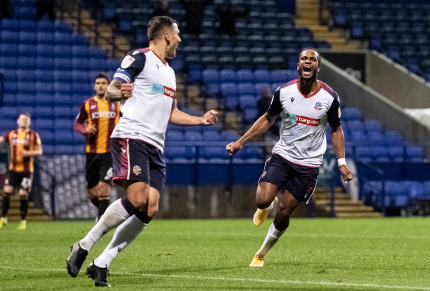 GBR: Bolton Wanderers v Bradford City - Sky Bet League Two