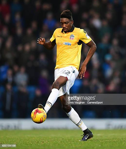 Bolton Wanderers' Sammy Ameobi during the Sky Bet League One match between Chesterfield and Bolton Wanderers at Proact Stadium on December 17 2016 in...