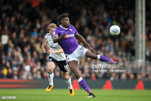 Bolton Wanderers' Sammy Ameobi in action during the Sky Bet Championship match between Fulham and Bolton Wanderers at Craven Cottage on October 28...
