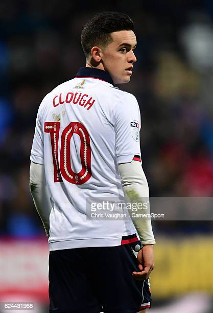 Bolton Wanderers' Zach Clough during the Sky Bet League One match between Bolton Wanderers and Millwall at Macron Stadium on November 19 2016 in...