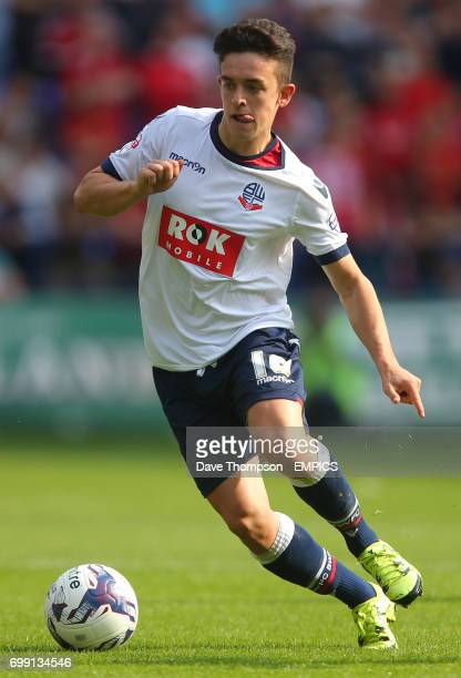 Bolton Wanderers' Zach Clough