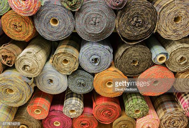 Bolts of Harris tweed