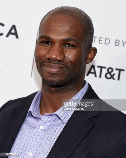 Bolu Abijoye attends the I Am Human screening at the 2019 Tribeca Film Festival at SVA Theater on May 02 2019 in New York City