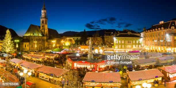 bolzano, south tyrol region, trentino alto adige, italy. - alto adige italy stock pictures, royalty-free photos & images
