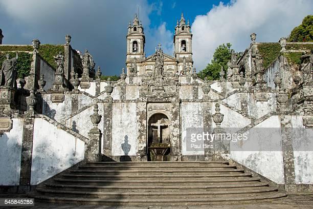 Bom Jesus do Monte sanctuary, Braga, Portugal.