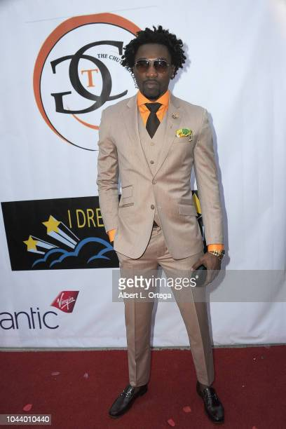 Boma Akpore arrives for 2nd Annual HAPAwards held at Alex Theatre on September 30 2018 in Glendale California