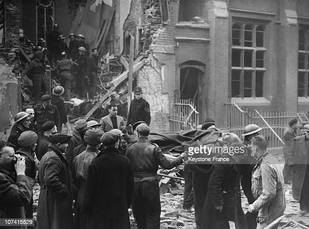 Bomb Damage In Southern England During World War Ii