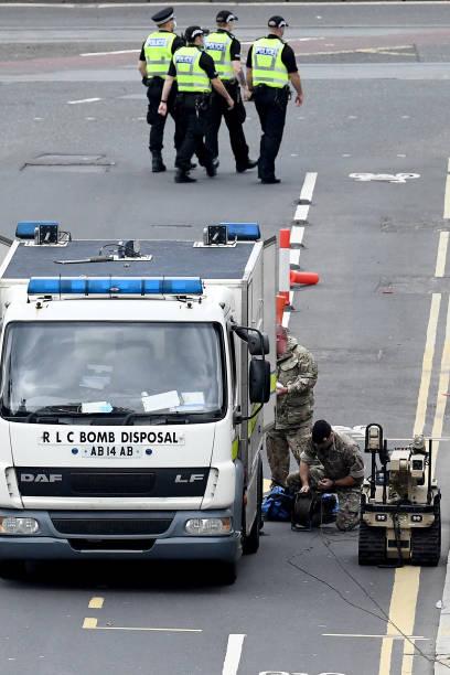 GBR: Bomb Disposal Team Responds To Threat On Princes Street In Edinburgh