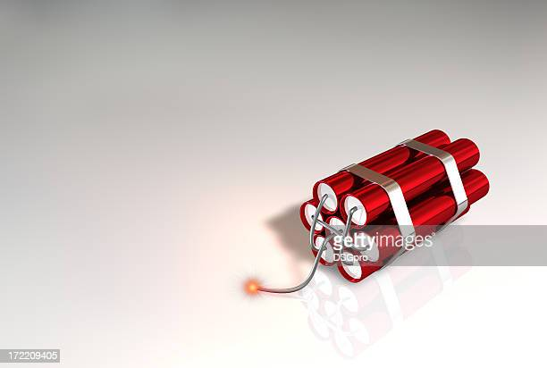 bomb stick - dynamite stock photos and pictures