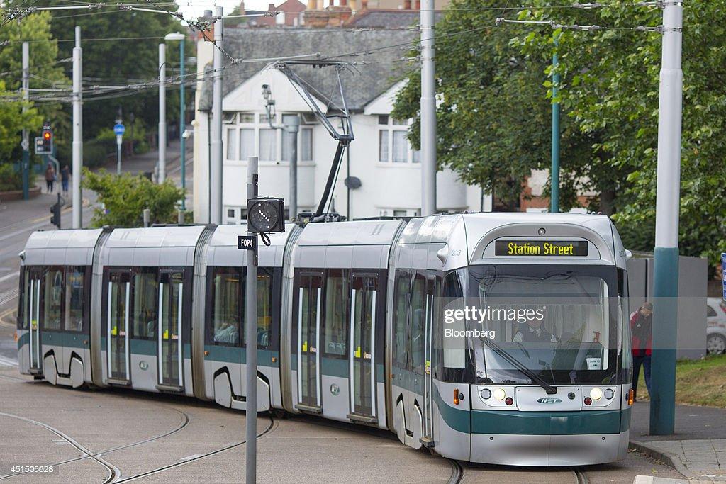 Operations At Alstom SA's Tram Plant : News Photo