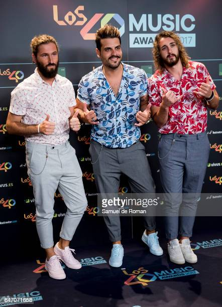 Bombay attends 40 Principales Awards candidates dinner 2017 on September 14 2017 in Madrid Spain