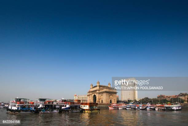 Bombay gate at mumbai West India