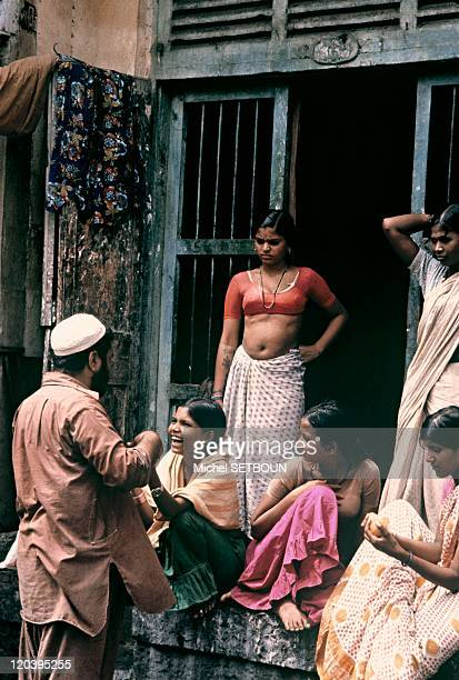 Bombay India Prostitutes and client
