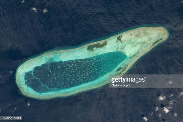 Bombay Reef located in the South China Sea.