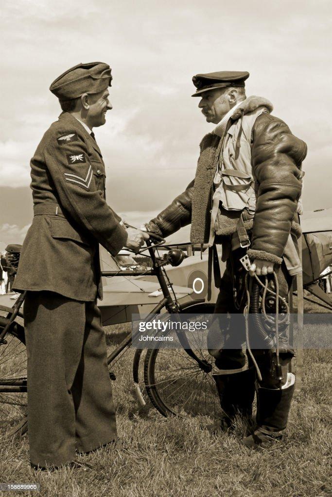 WW2 Bomberjacke für Jungen. : Stock-Foto
