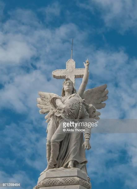 Bomberos Monument, Angel