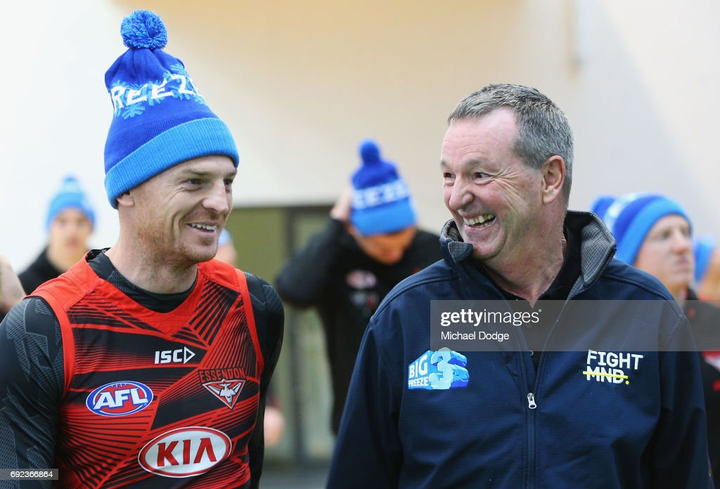 Neale Daniher / Essendon Bombers Media Opportunity