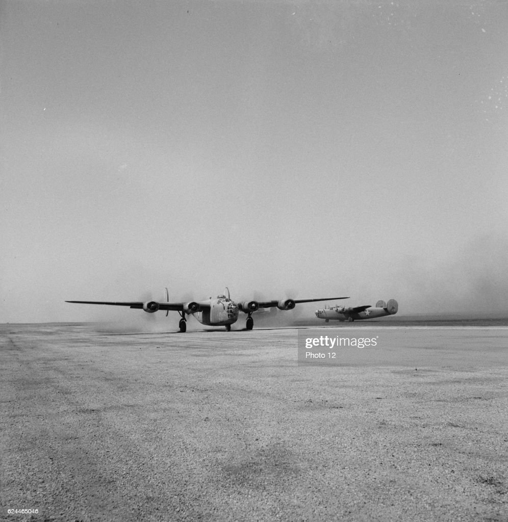 B-24 bombers of the U.S. Army. : News Photo