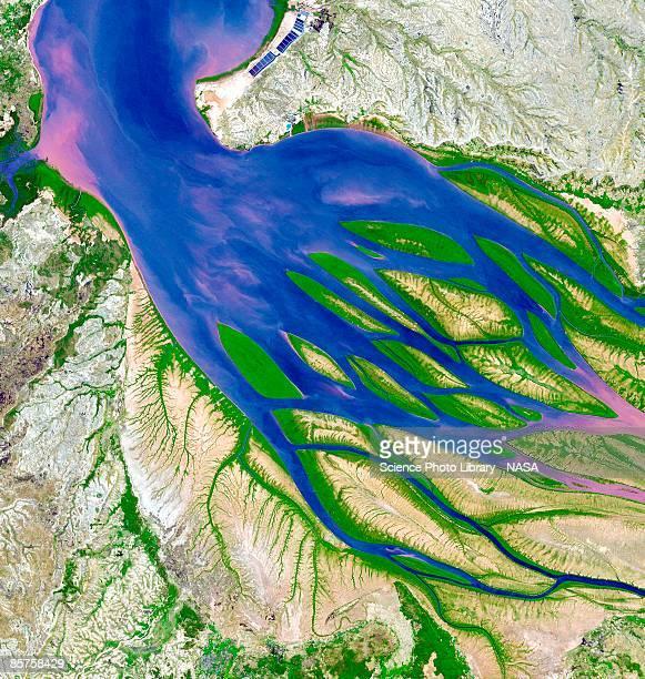 Bombetoka Bay and Madagascar, satellite image