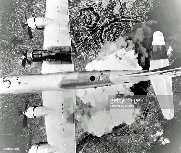 Bombing of Osaka in Japan.