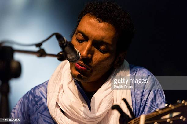 'Bombino' aka Goumar Almoctar a famous guitarist from Niger performs live at Ritmika Music Festival
