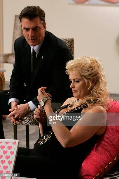 INTENT Bombshell Episode 20 Aired 5/8/07 Pictured Chris Noth as Detective Mike Logan Kristy Swanson as Lorelei Mailer
