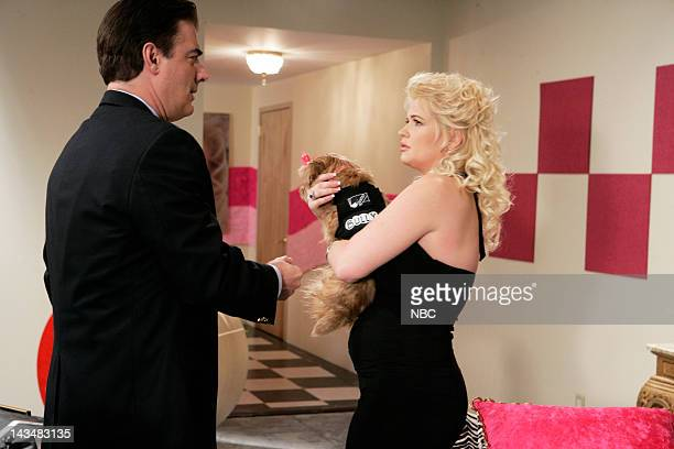 "Bombshell"" Episode 20 -- Aired 5/8/07 -- Pictured: Chris Noth as Detective Mike Logan, Kristy Swanson as Lorelei Mailer"
