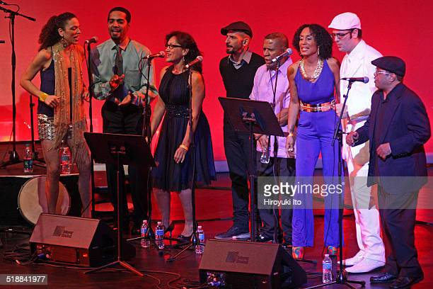 BomPlenazo Artists Collective performing at Main Theater at Hostos Community College on Saturday night October 11 2014This imageFrom left Julia...